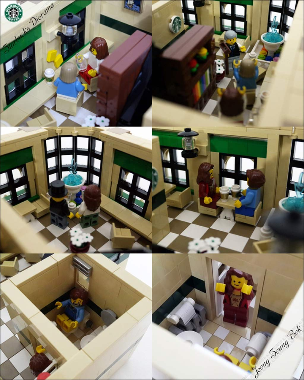 Schöne Atmosphäre | © JeongSeungbok / LEGO Ideas