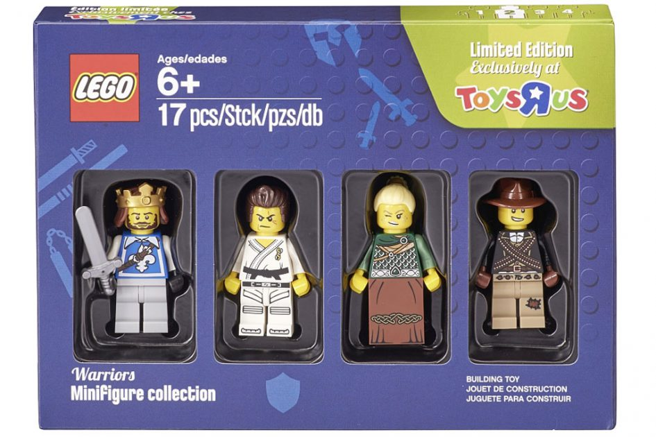 Vier Krieger  in der Box, nur bei ToysRUs | © LEGO Group