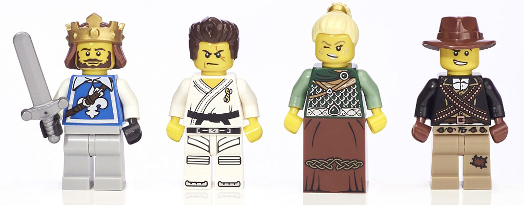 Vier Krieger | © LEGO Group