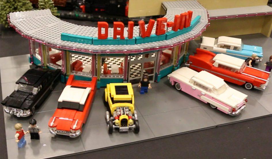 Lego Building Parkplatz