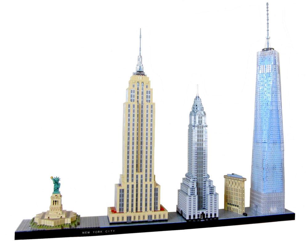 lego moc new york city skyline in xxl zusammengebaut. Black Bedroom Furniture Sets. Home Design Ideas