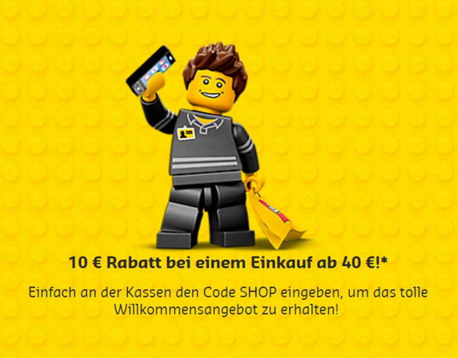 10 Euro Rabatt | © LEGO Group