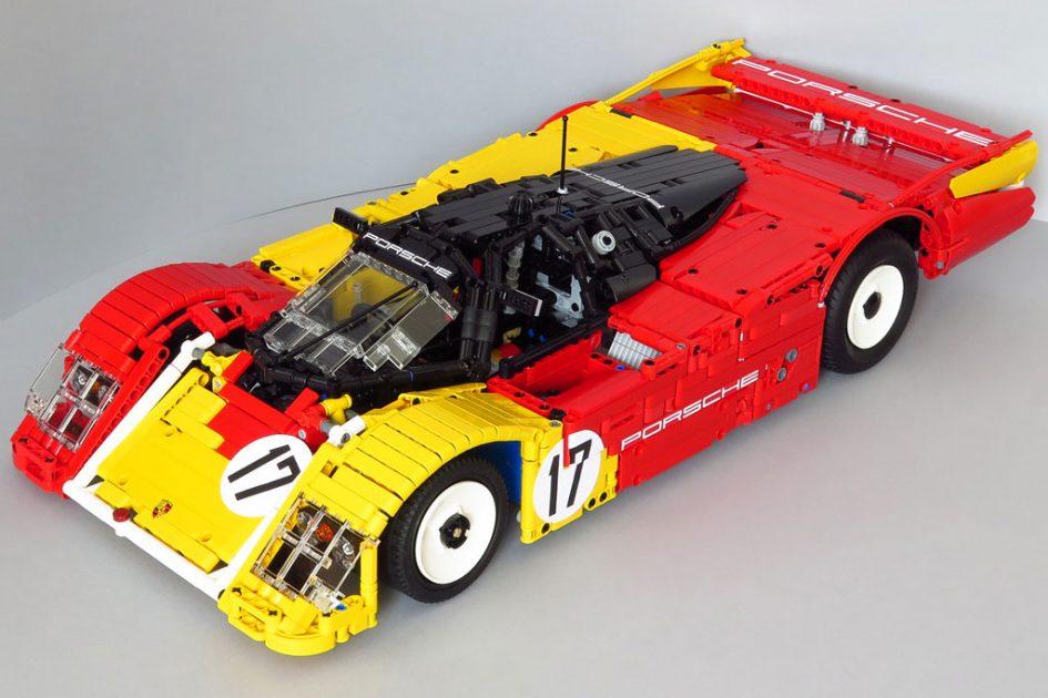 Porsche 962 C 001 aus LEGO Technic Steinen von Tamás Juhász | © Tamás Juhász
