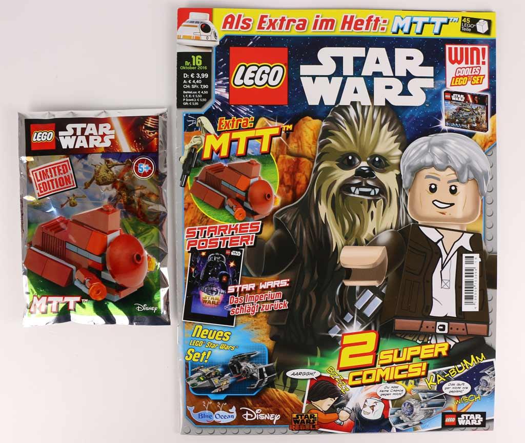 LEGO Star Wars Magazin: Oktober Ausgabe | © Andres Lehmann / zusammengebaut.com