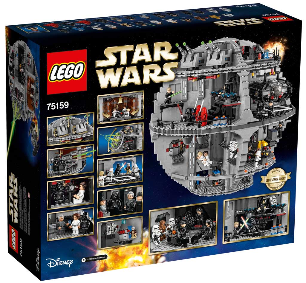lego star wars todesstern 75159 offiziell vorgestellt zusammengebaut. Black Bedroom Furniture Sets. Home Design Ideas