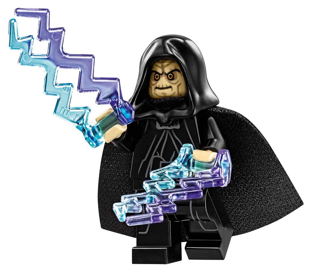 Und der Imperator darf natürlich auch nicht fehlen... | © LEGO Group