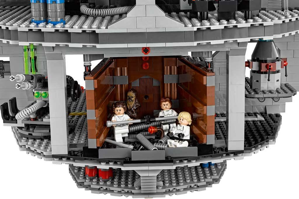 Gut was los auf dem Todesstern... | © LEGO Group