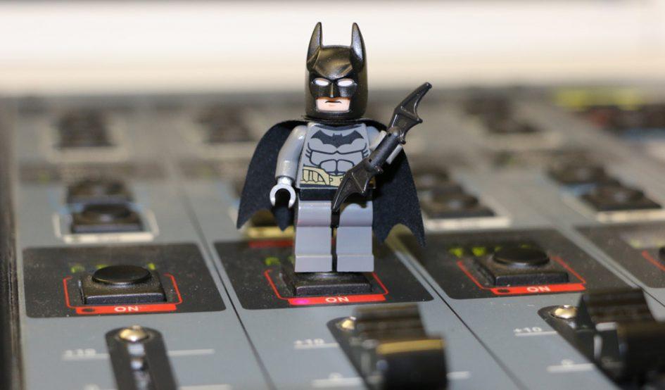 Batman war mit im Radio! | © Andres Lehmann / zusammengebaut.com