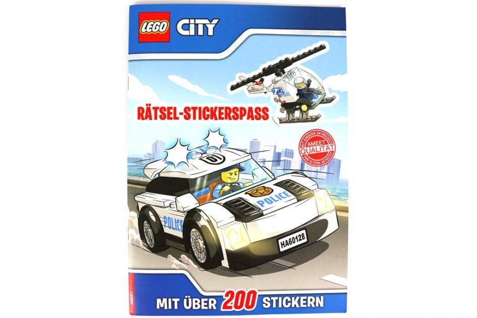 LEGO City Rätsel-Stickerspaß   © Andres Lehmann / zusammengebaut.com