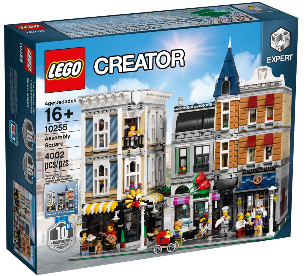 LEGO Creator Expert Assembly Square (10255): Achtung, hier kommt ein Karton! | © LEGO Group