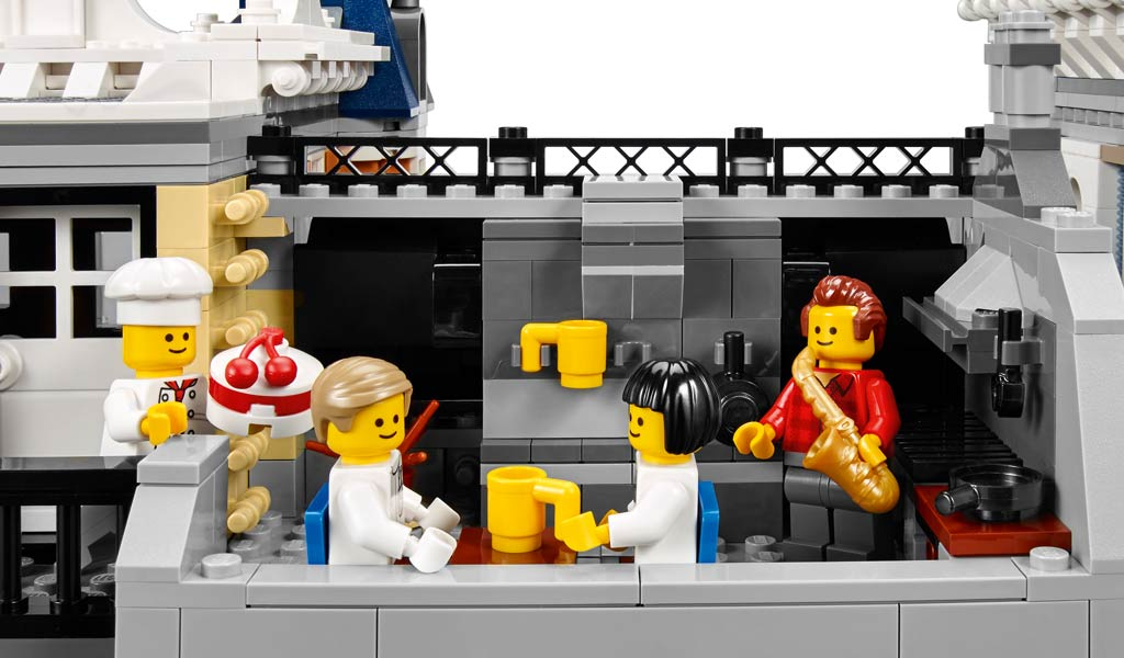 Dachterrasse: Gemütlich! | © LEGO Group