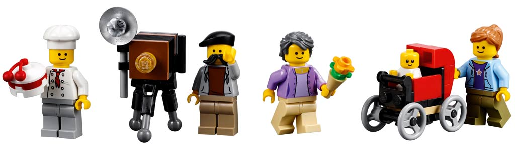 Konditor, Fotograf und Co. | © LEGO Group