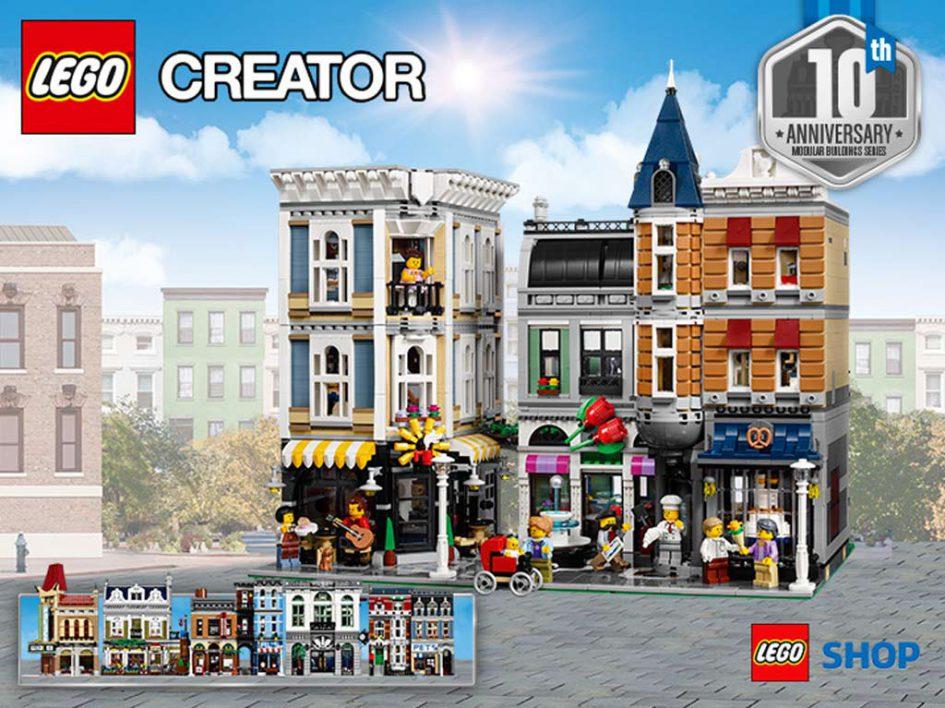 Zehn Jahre Modular Buildings: LEGO Rebrick Wettbewerb | © Andres Lehmann / zusammengebaut.com