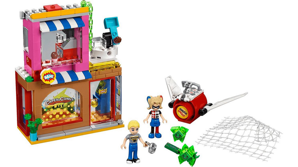 LEGO Super Hero Girls Harley Quinn's Cafe Rescue (41231) | © LEGO Group