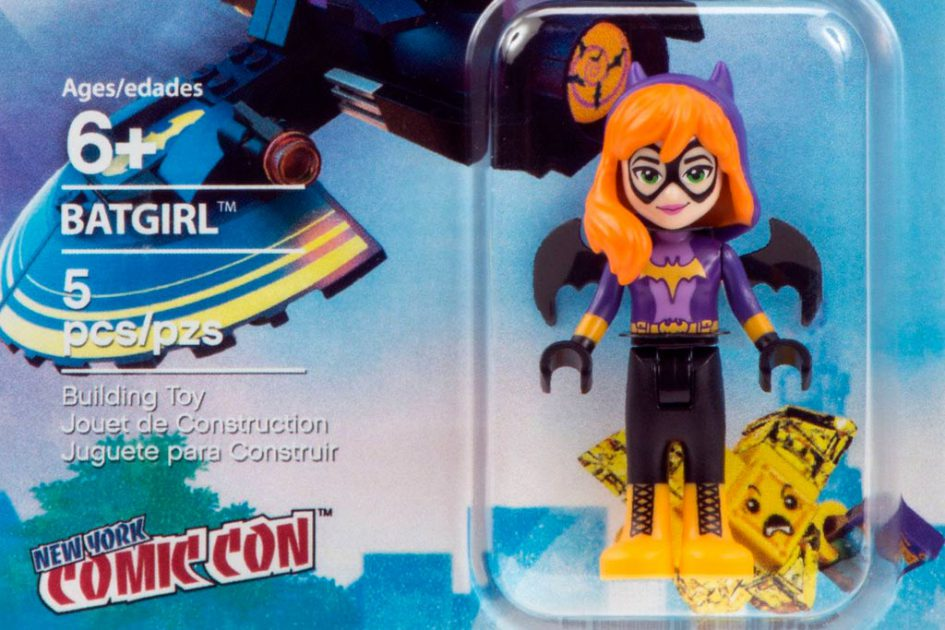 LEGO DC Super Hero Girls Batgirl Minidoll | © LEGO Group
