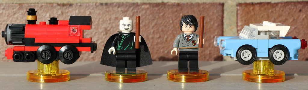 LEGO Dimensions: Harry Potter und Lord Voldemort (71247) | © Andres Lehmann / zusammengebaut.com