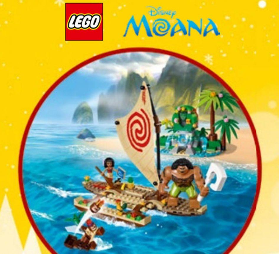 LEGO Disney Moana Sets kündigen sich an.   © LEGO Group