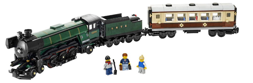 LEGO Emerald Night Smaragdexpress (10194) in voller Pracht | © LEGO Group