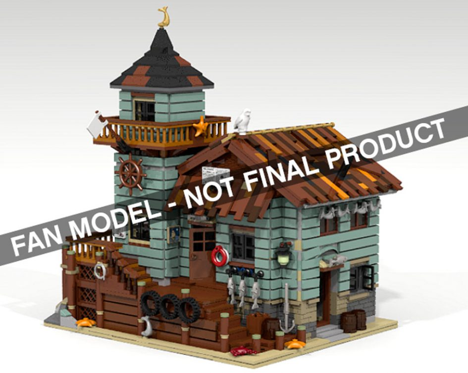 lego ideas: altes fischerhaus wird offizielles set, Attraktive mobel