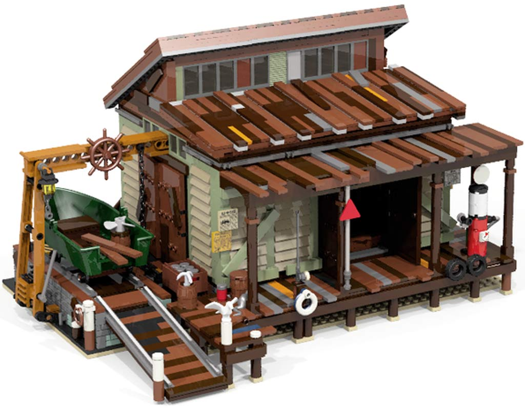 """Boat Repair Shop"" 