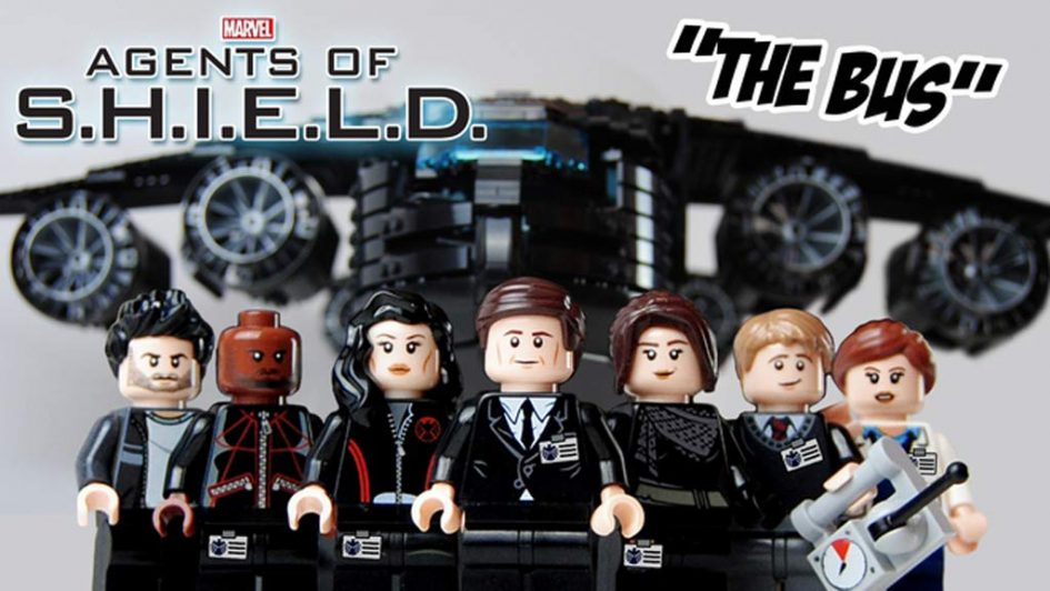 LEGO Ideas Entwurf Marvel's Agents of S.H.I.E.L.D 'The Bus' | © Savath_Bunny / LEGO Ideas