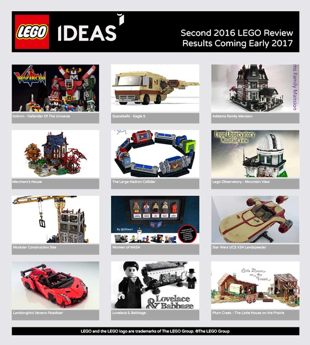 Welcher LEGO Ideas Entwurf wird als Set realisiert? | © LEGO Group