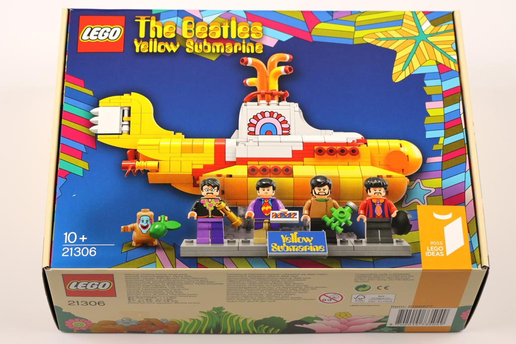 LEGO Ideas The Beatles Yellow Submarine (21306): Schicker Karton! | © Andres Lehmann / zusammengebaut.com