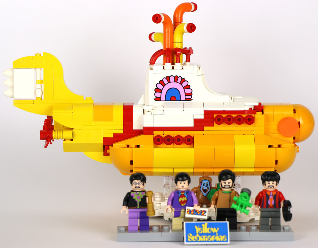 LEGO Ideas The Beatles Yellow Submarine (21306) | © Andres Lehmann / zusammengebaut.com