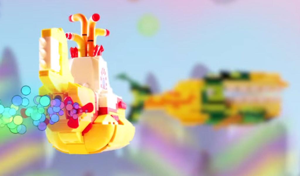Kultiges gelbes Unterwasserboot | © LEGO Ideas