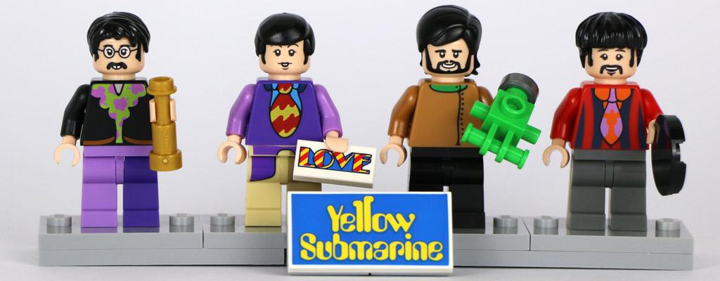 John Lennon, Paul McCartney, George Harrison und Ringo Starr | © Andres Lehmann / zusammengebaut.com