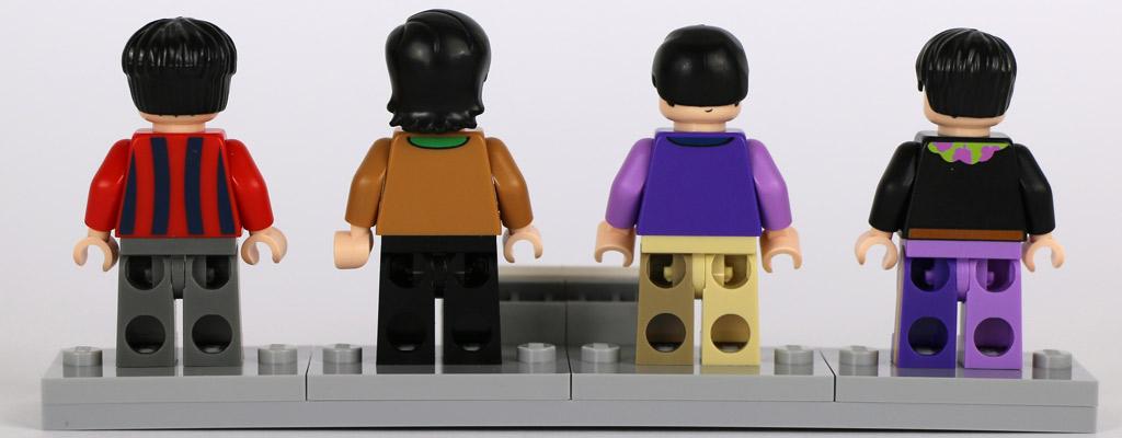So sehen die Beatles von hinten aus. | © Andres Lehmann / zusammengebaut.com