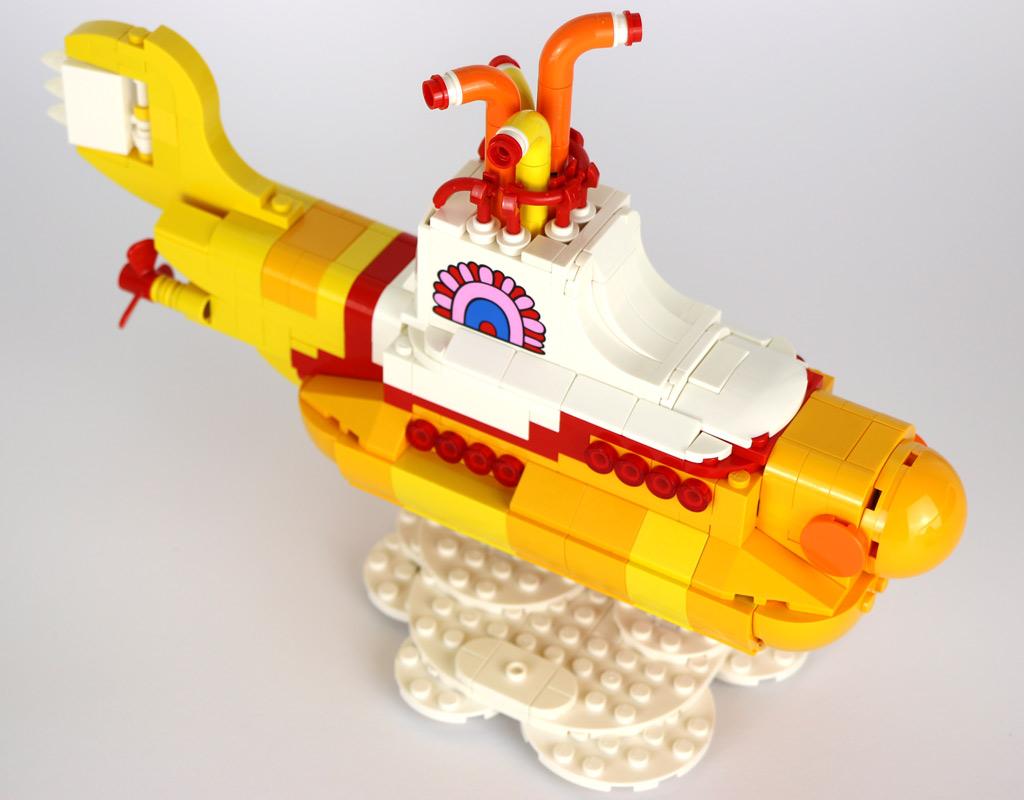 Gelbes Unterwasserboot | © Andres Lehmann / zusammengebaut.com