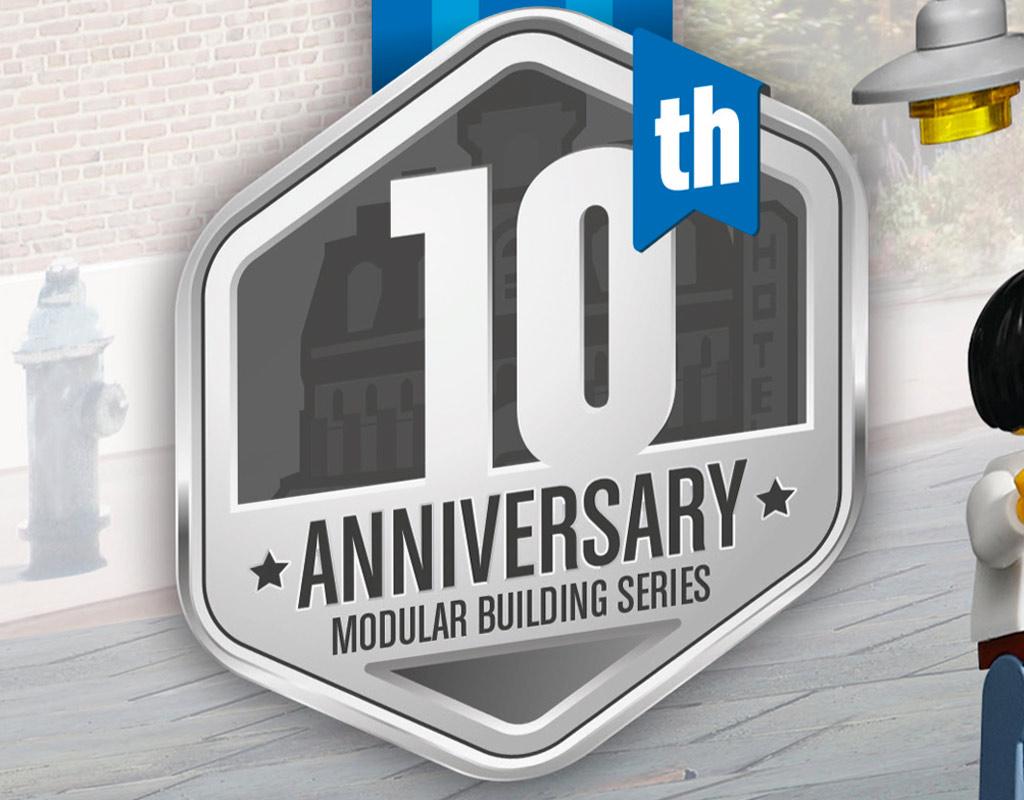 Zehnter Geburtstag: Modular Building Serie | © LEGO Group