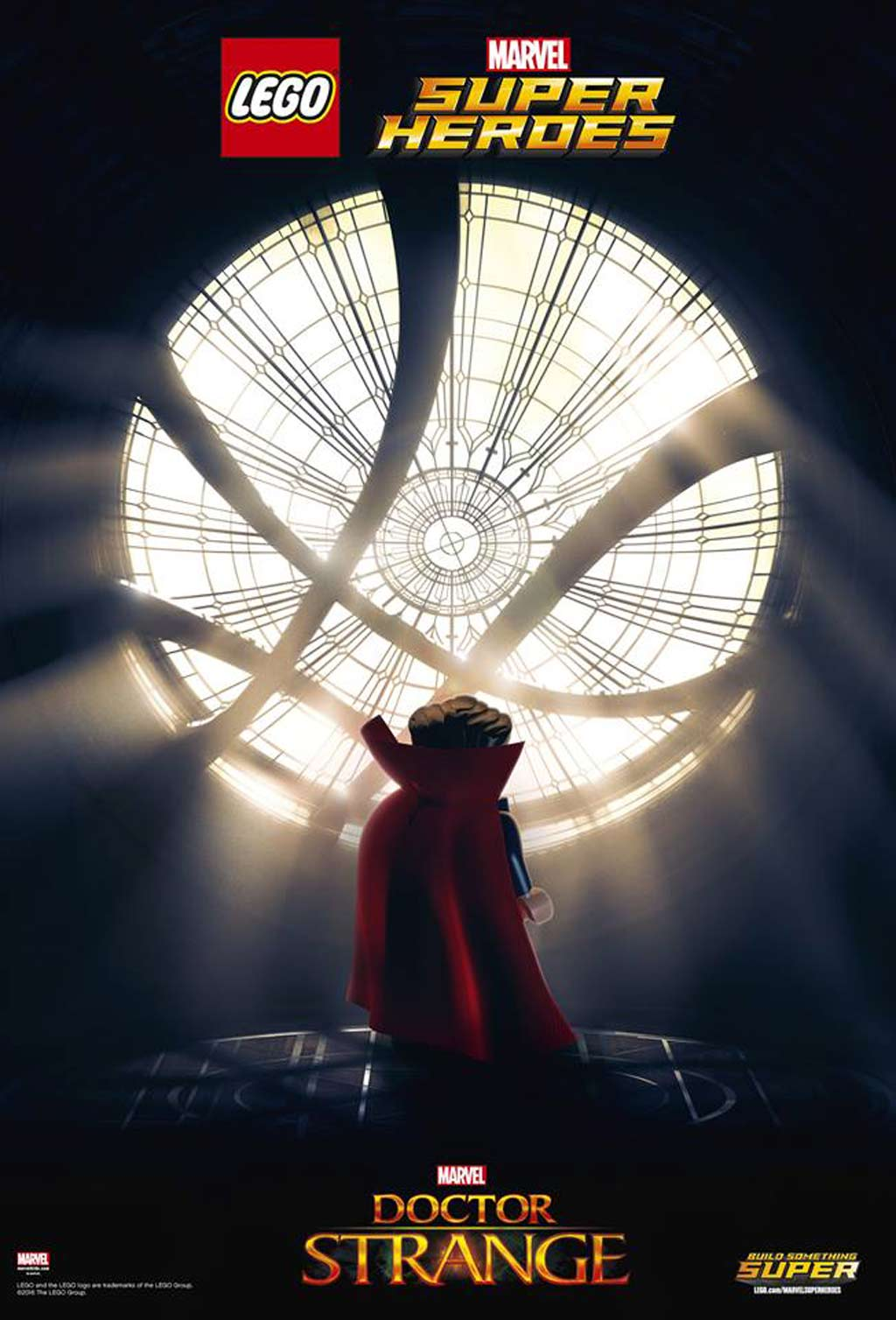 LEGO Marvel Super Heroes Doctor Strange Filmposter | © LEGO Group