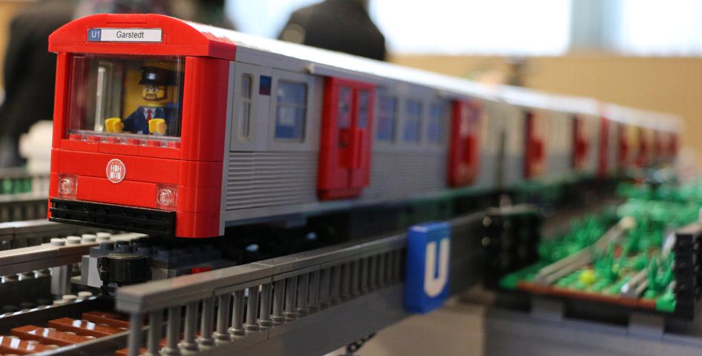 Hamburger Hochbahn: Linie U1 von Oliver Lange | © Andres Lehmann / zusammengebaut.com
