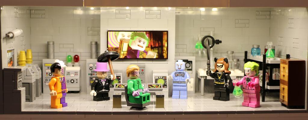 Schurkenbande rund um Joker | © Andres Lehmann / zusammengebaut.com
