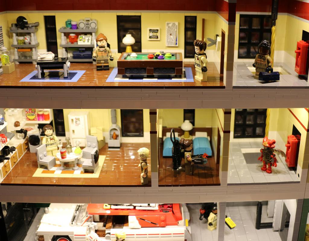 Das Ghostbusters Hauptquartier in neuer Umgebung | © Andres Lehmann / zusammengebaut.com