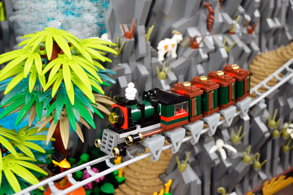 Wilde Abfahrt! | © Claus-Marc Hahn / Bricks Creations