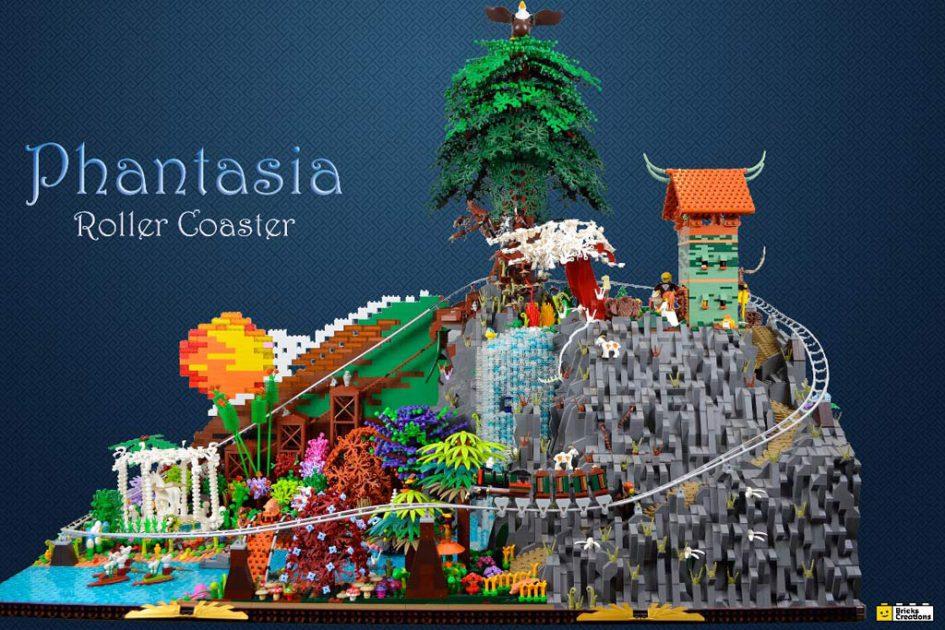LEGO MOC: Phantasia Roller Coaster | © Claus-Marc Hahn / Bricks Creations