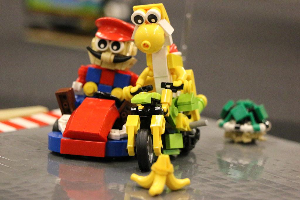 Super Mario Kart: Riskantes Überholmannöver! | © Andres Lehmann / zusammengebaut.com