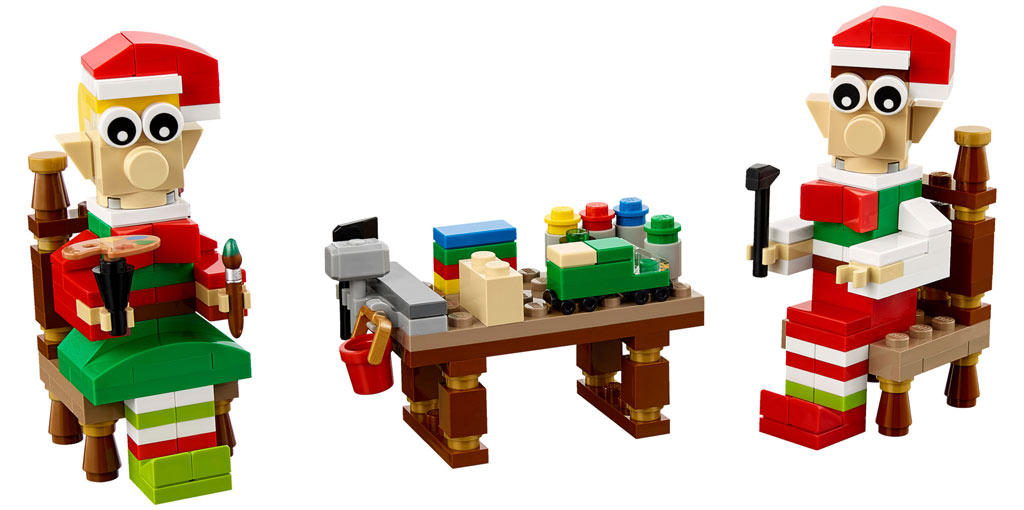 LEGO Seasonal Elves' Workshop (40405) | © LEGO Group