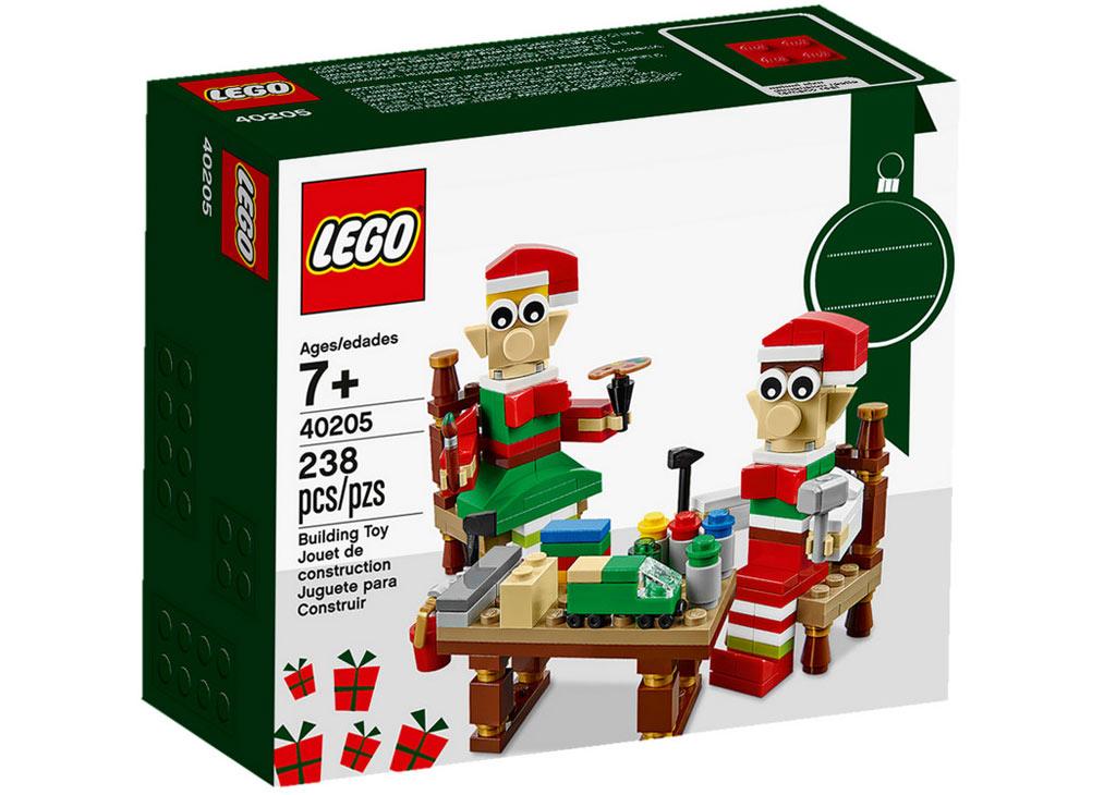 LEGO Seasonal Elves' Workshop (40405): Box | © LEGO Group