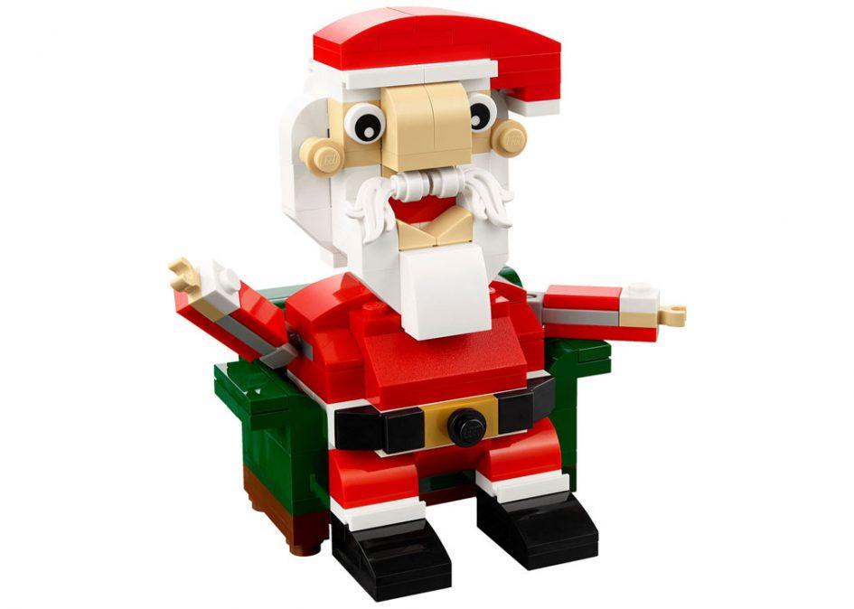 Der Weihnachtsmann: LEGO Seasonal Santa Claus (40206) | © LEGO Group