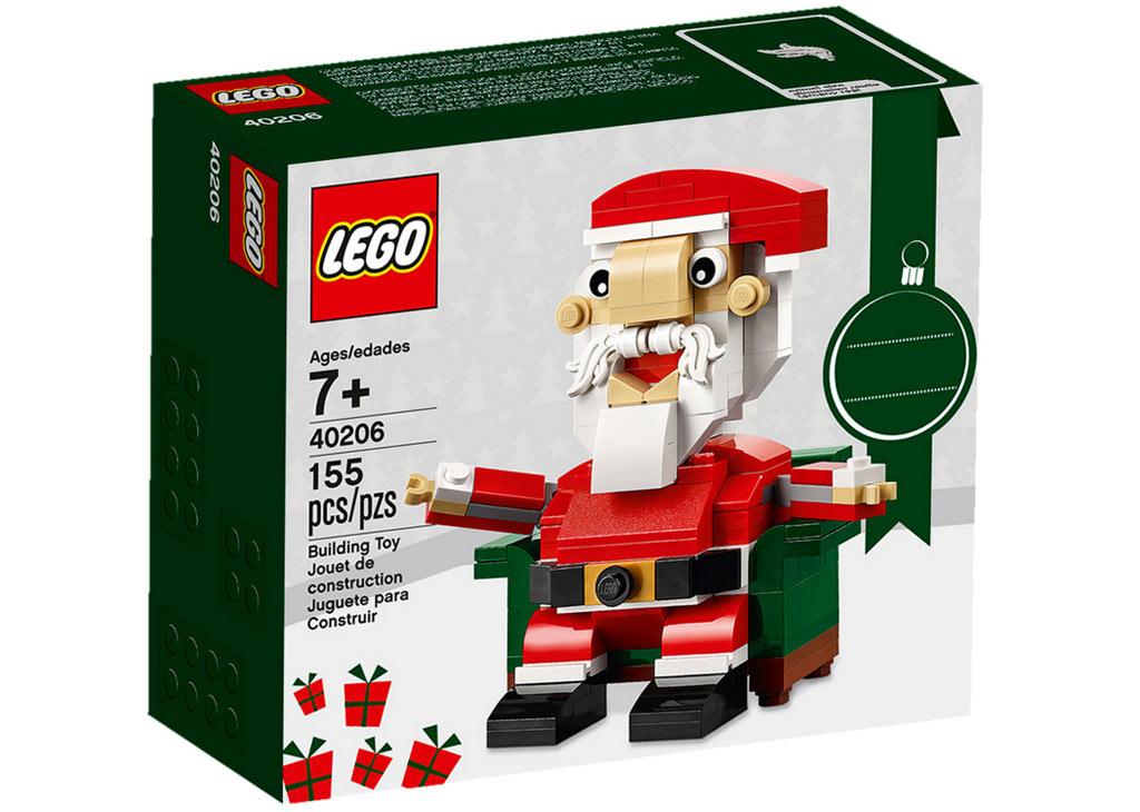 LEGO Seasonal Santa Claus (40206) | © LEGO Grouü