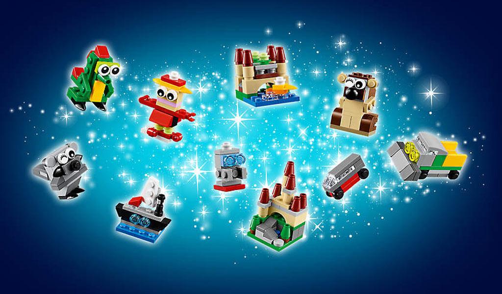 Gratis LEGO 24-In-1 Weihnachtsspaß Adventskalender | © Andres Lehmann / zusammengebaut.com