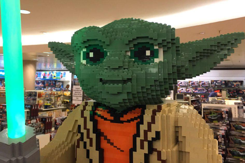 Ein steiniger Yoda dies ist! | © Michael Kopp