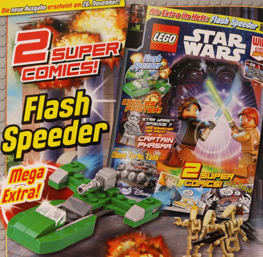 November-Ausgabe des LEGO Star Wars Magazins | © Andres Lehmann / zusammengebaut.com