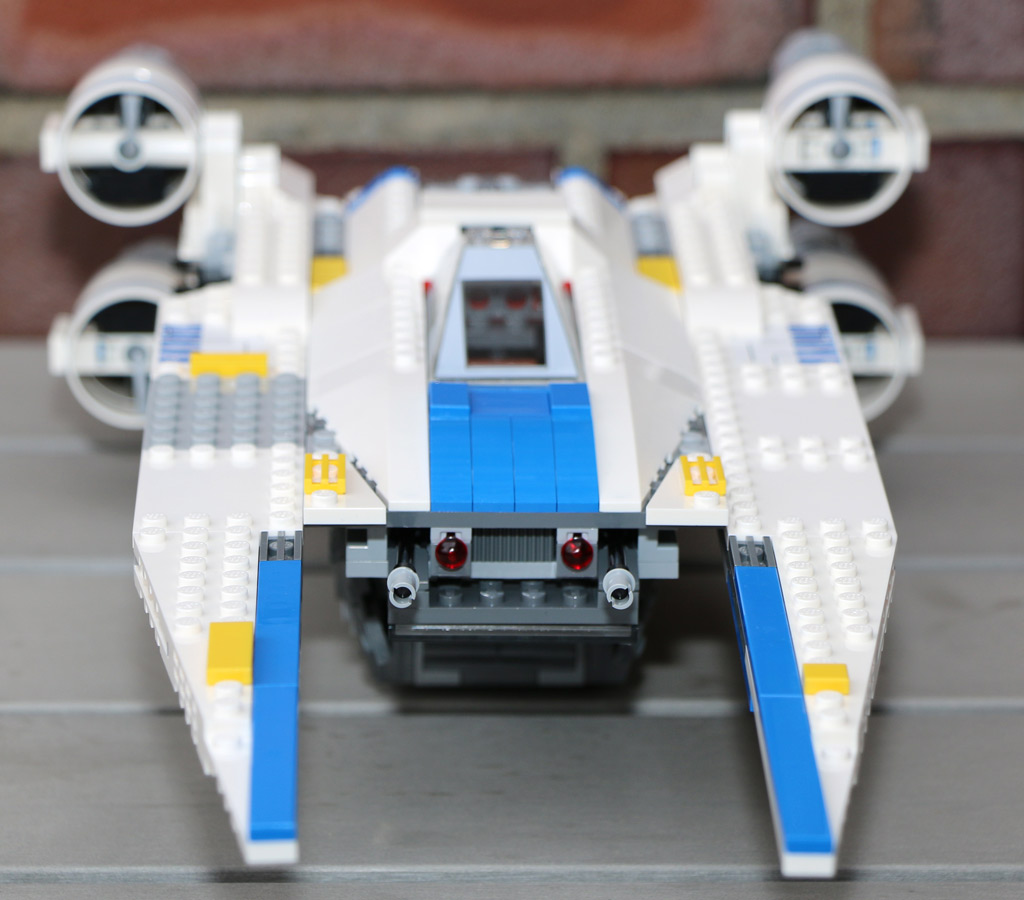 U-Wing Fighter in voller Pracht | © Andres Lehmann / zusammengebaut.com