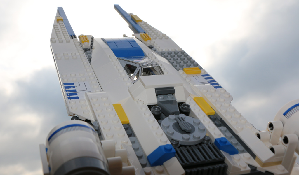 LEGO Star Wars Rebel U-Wing Fighter (75155) | © Andres Lehmann / zusammengebaut.com