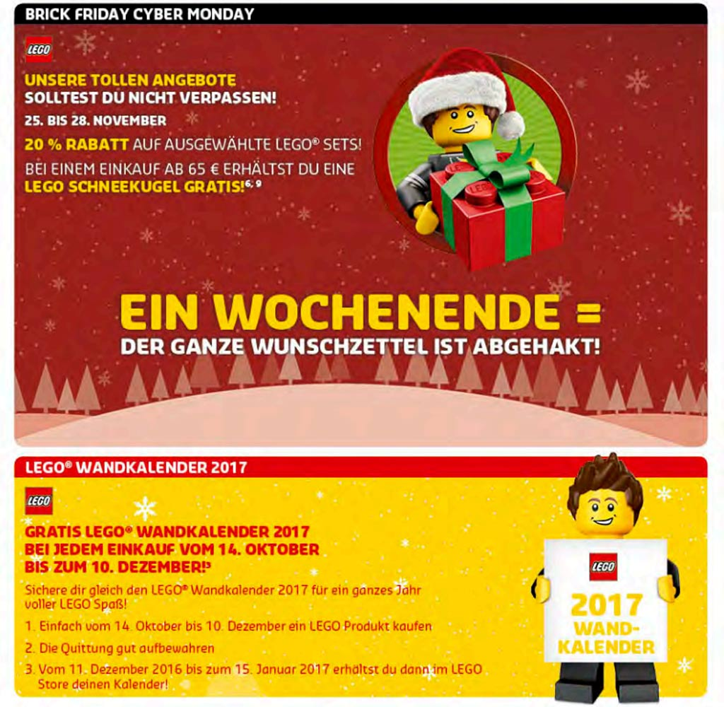Brick Friday und Cyber Monday | © LEGO Group